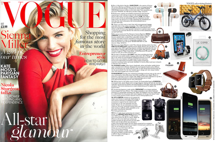 mahi leather in Vogue