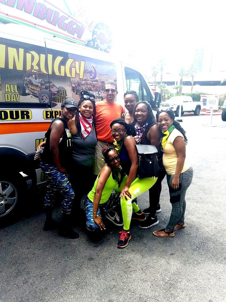 Las Vegas ATV rides for our Girls trip 2017