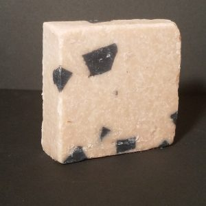 Dead sea mud and sea salt scrub soap