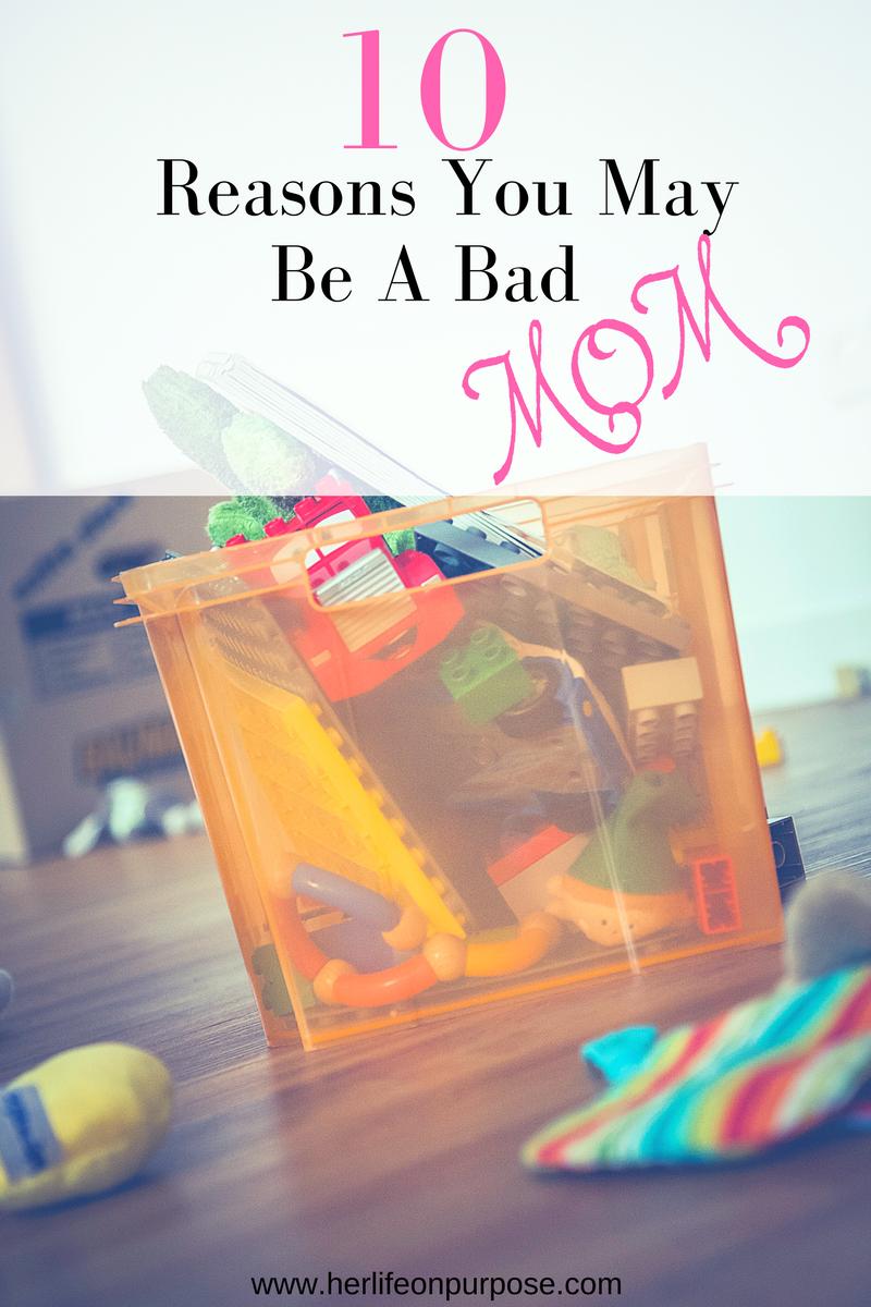 messy toys is a sign of a bad mommy