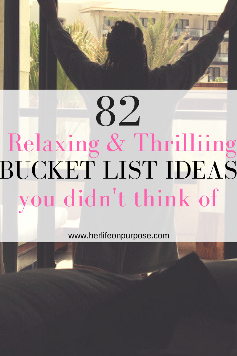 Pinterest pin for 82 crazy bucket list ideas