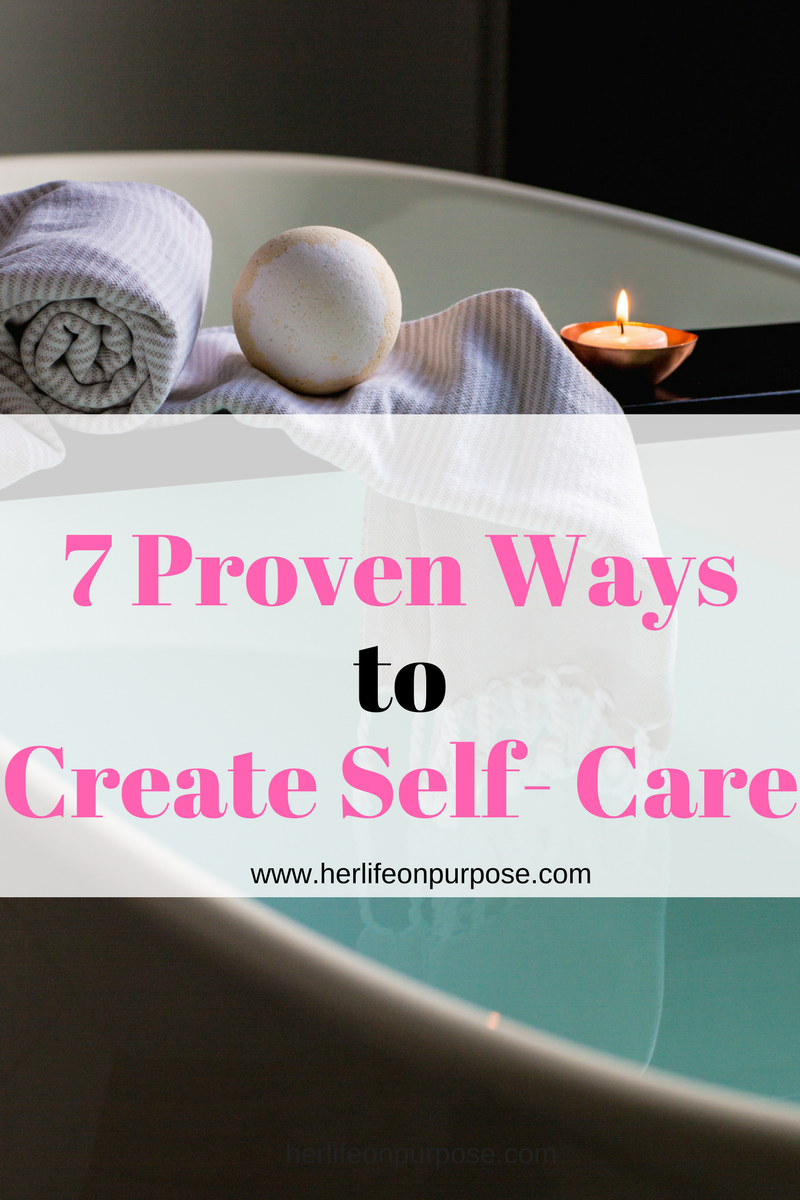 seven self care tips using the best bath bombs and soaps