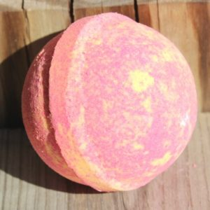 Tropical fruit bath bomb