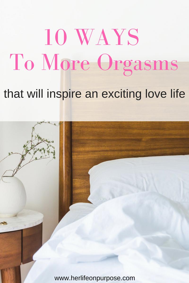 10 ways to orgasm more