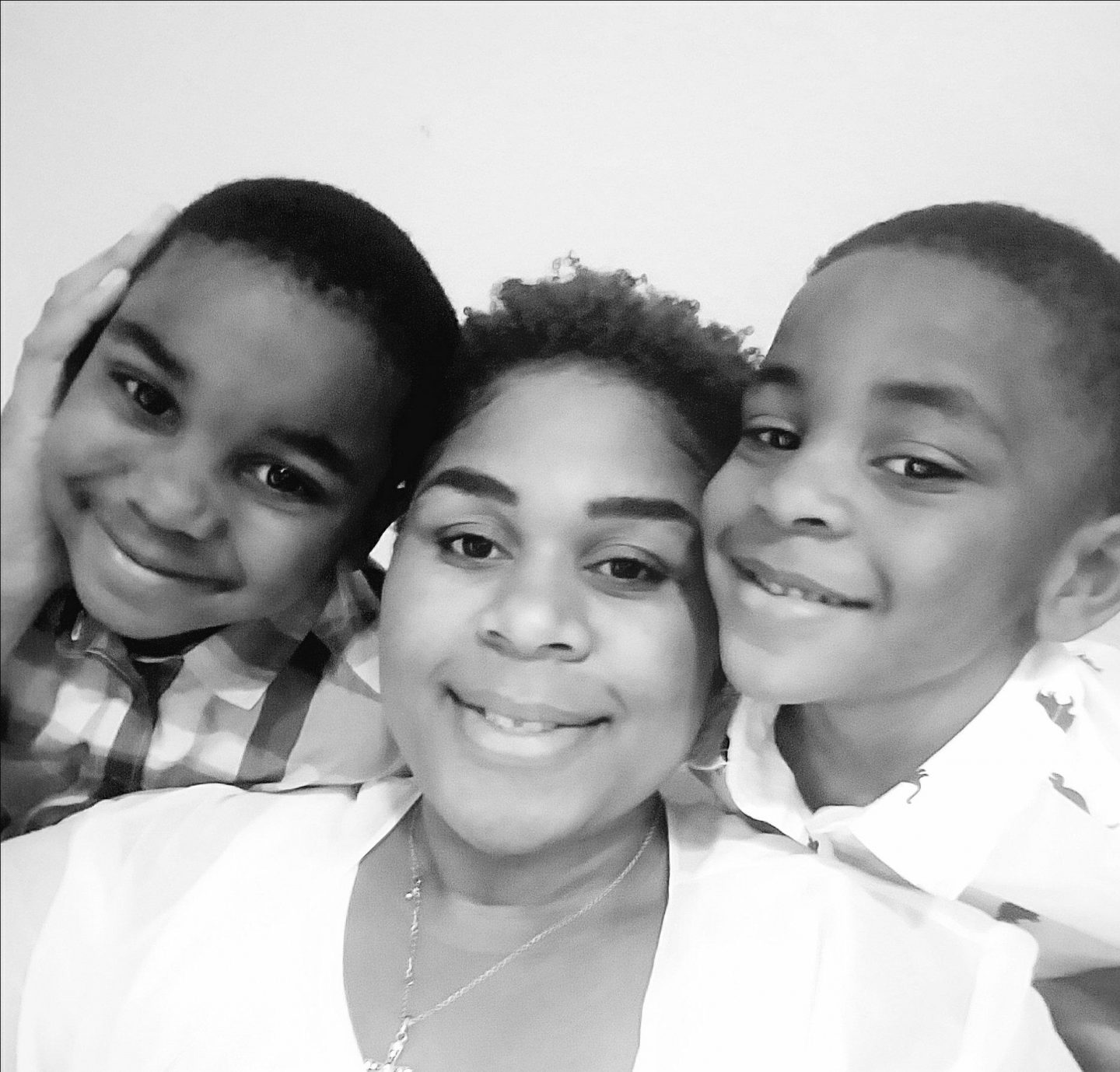 Mother and Black Sons