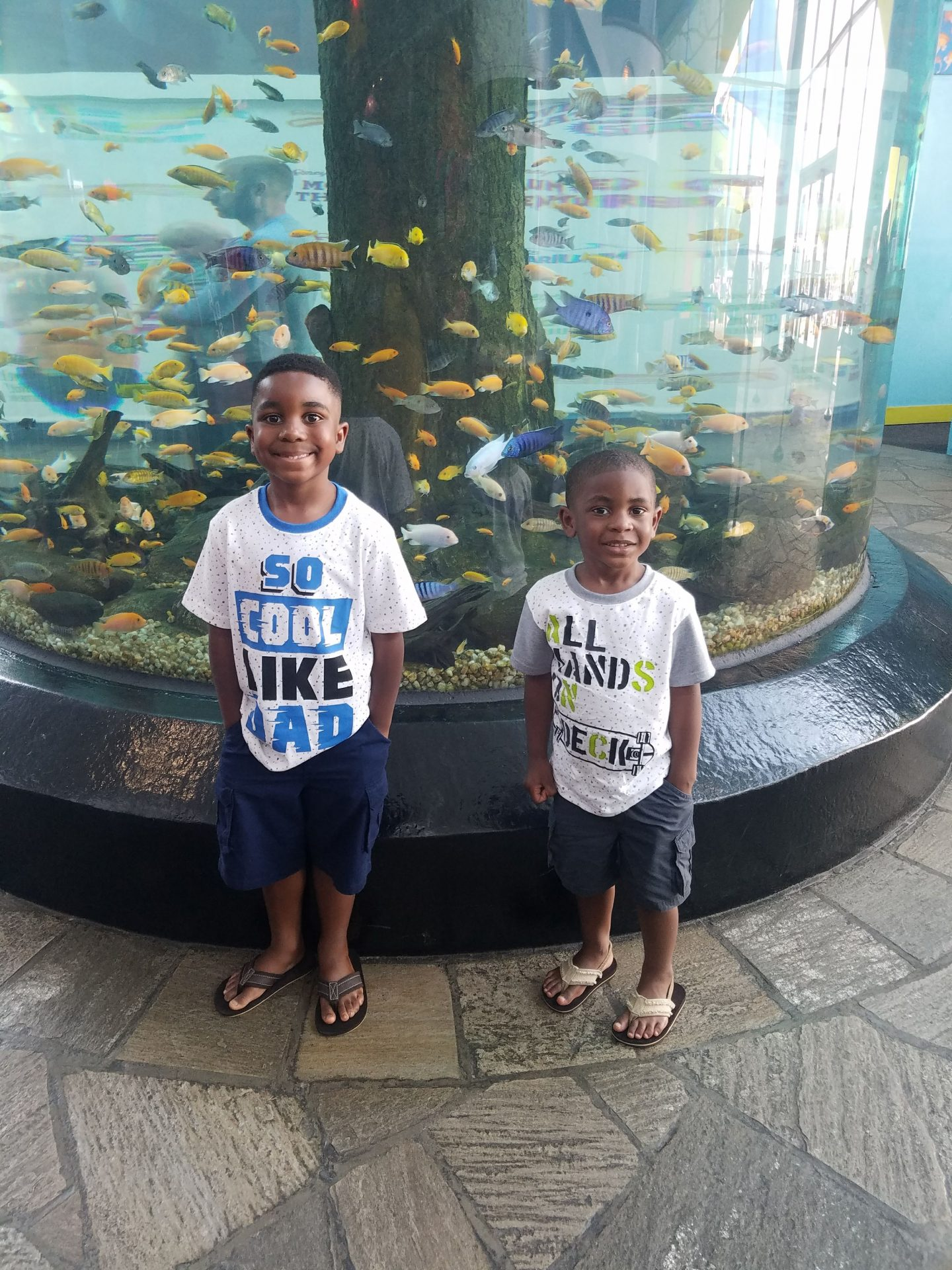 kids at Ripley's Aquarium Myrtle Beach SC